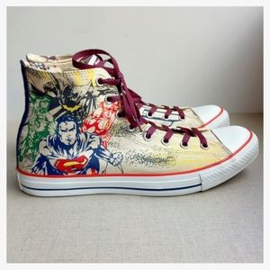 Converse Men US 11 EU 45 Justice League Sneakers
